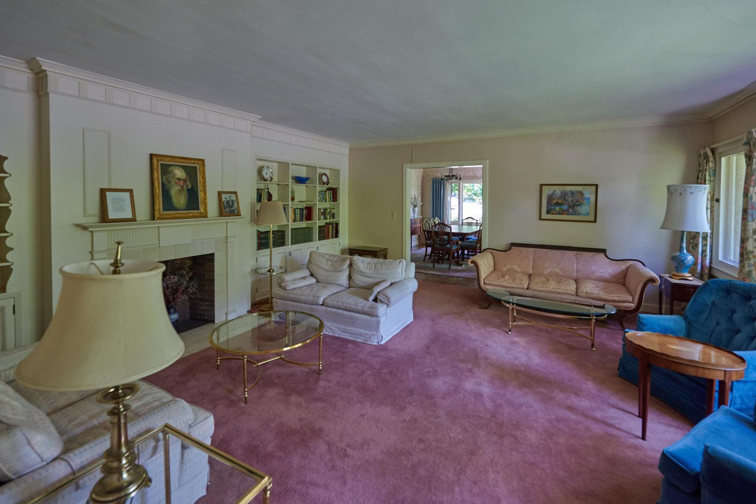 The Caine Home sitting room.