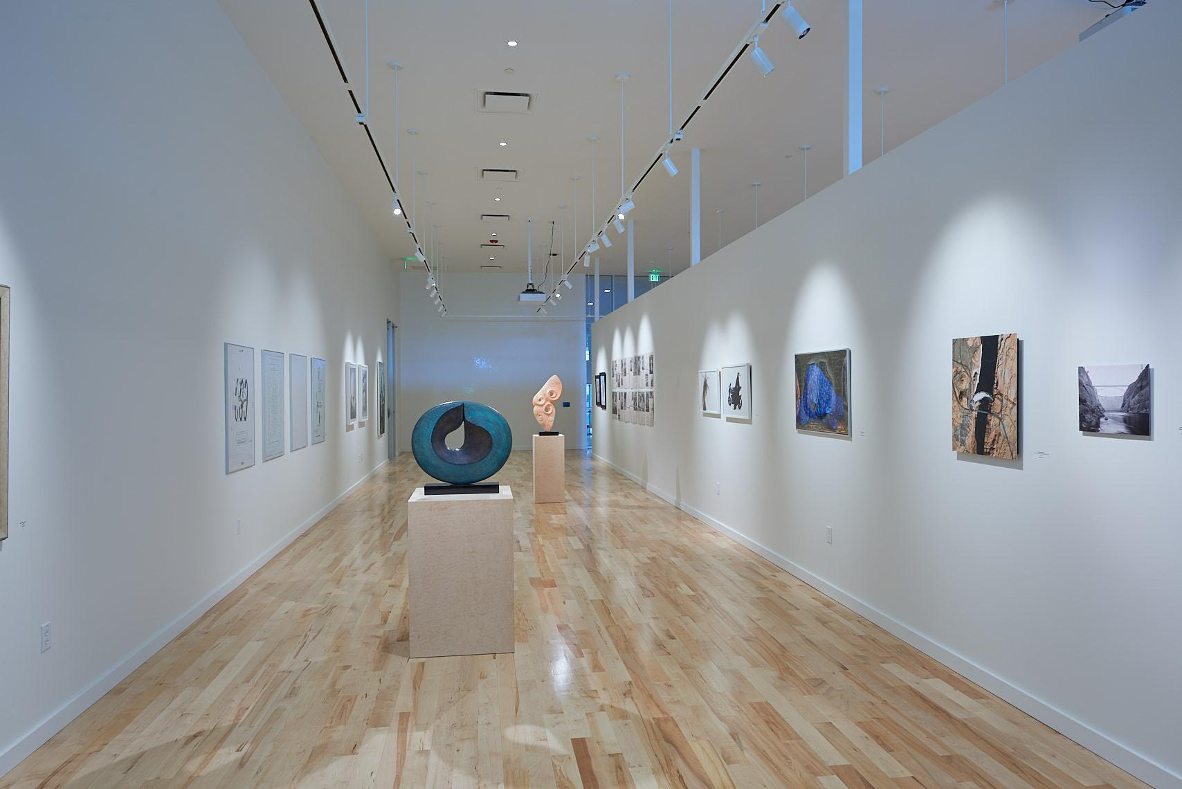 The Galleries are ideal for showcasing hanging or free-standing art.