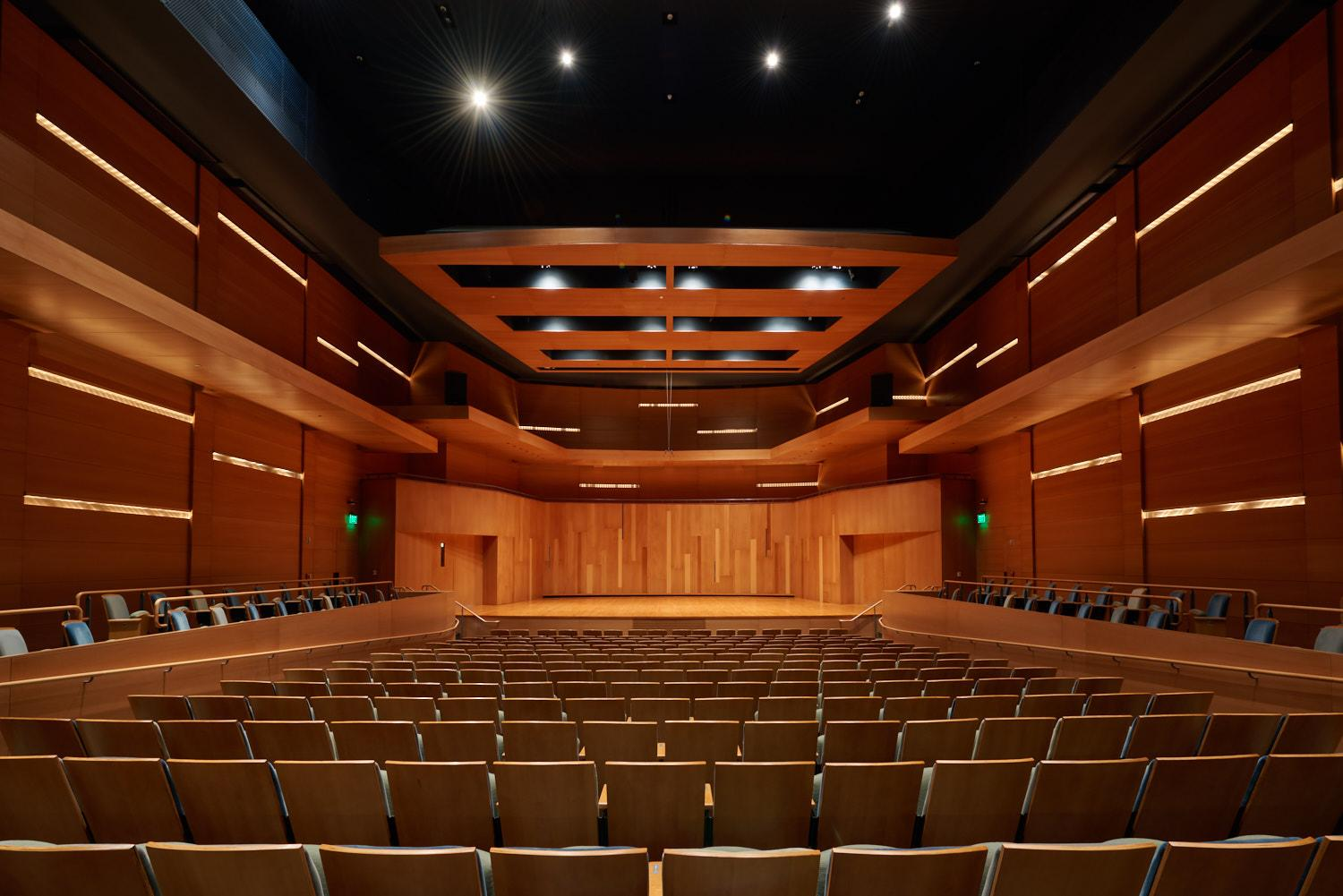 The Performance Hall is ideal for small acoustical performances.