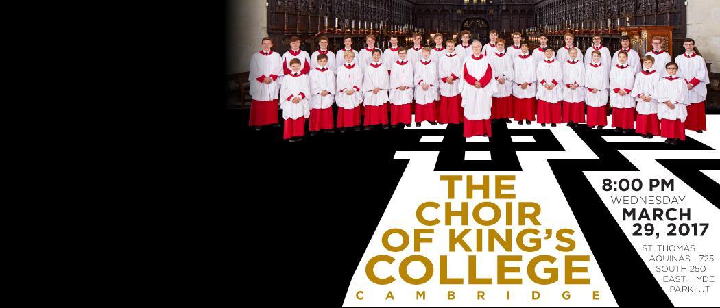 March 29 | 8 p.m. | St. Thomas Aquinas Catholic Church | 725 S 250 E | Hyde Park