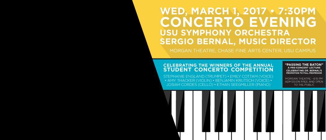 March 1 | 7:30 p.m. | Morgan Theatre | Chase Fine Arts Center | USU Campus
