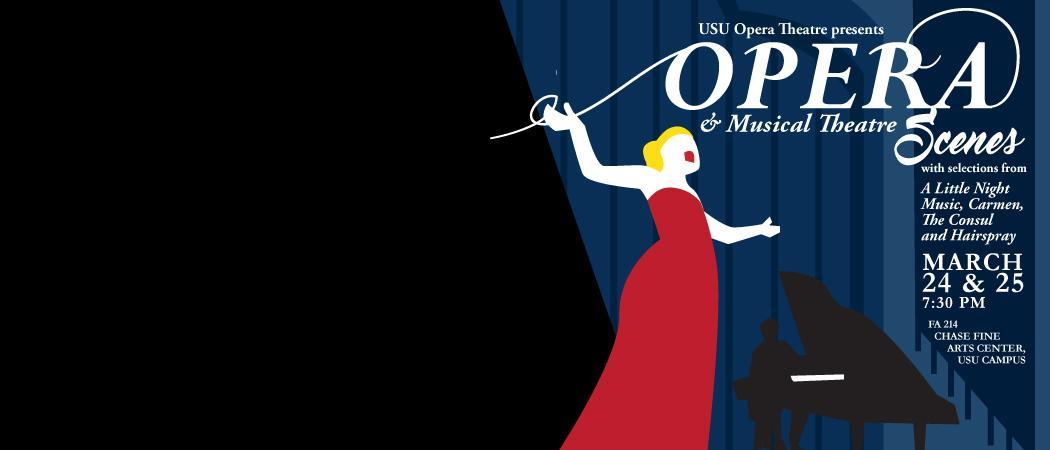 March 24-25 | 7:30 p.m. | FA 214 | Chase Fine Arts Center | USU Campus