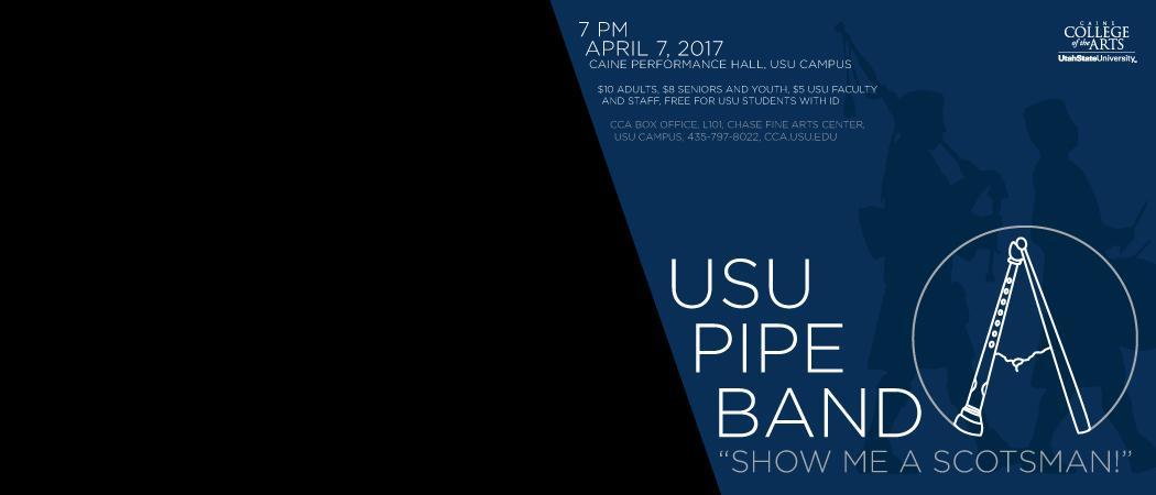 April 7 | 7 p.m. | Caine Performance Hall | USU Campus